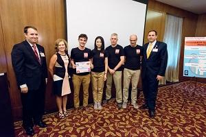 Winning team in New York Presbyterian's InnovateNYP Challenge