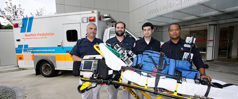 mobile ECMO transport team