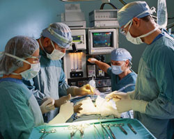an operating room
