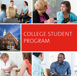 cover of brochure for College Student Program