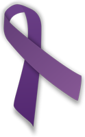 purple ribbon by MesserWoland