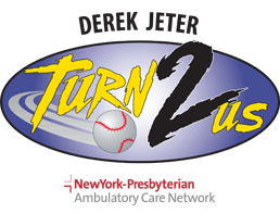 Derek Jeter Turn 2 Us Foundation logo