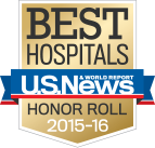 U.S. News Best Hospitals Badge
