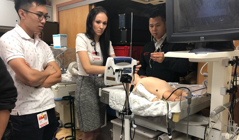 NewYork-Presbyterian Queens Emergency Medicine pediatric simulation