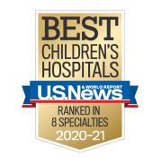 US News Best Childrens Hospitals Badge