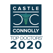 Castle Connolly Top Doctors badge