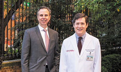 Dr. Evan Johnson and Dr. Paul C. McCormick