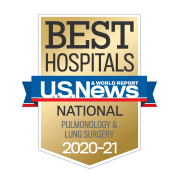 US News Best Hospitals Pulmonology and Lung Surgery