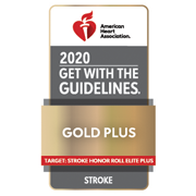 American Heart Assocaition/American Stroke Association Get With The Guidelines®-Stroke Gold Plus 2020